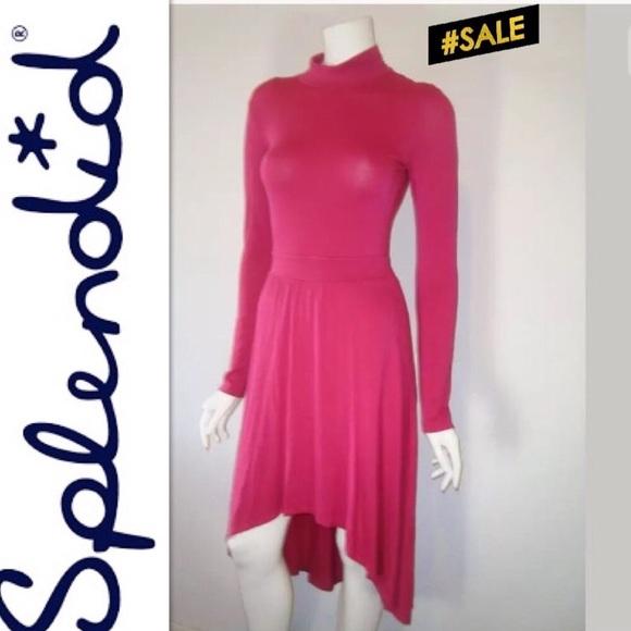 Splendid Dresses & Skirts - Splendid Hi Low Long Sleeve Dress XS New